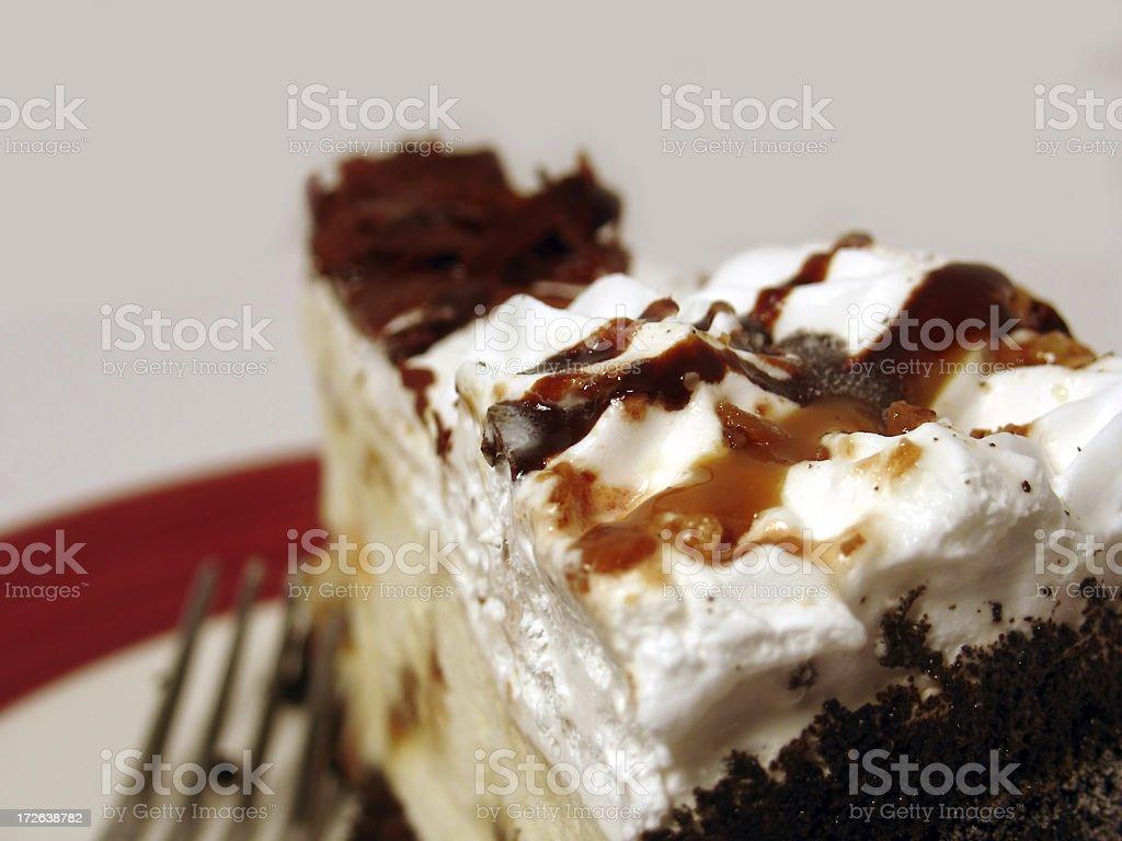 Dessert  - ice cream cake stock photo