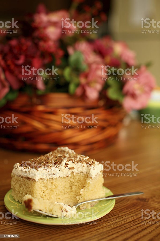 Dessert on a Sunny Afternoon royalty-free stock photo