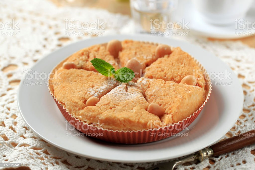 Dessert pie royalty-free stock photo