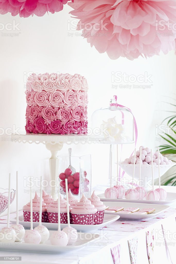 Dessert table royalty-free stock photo