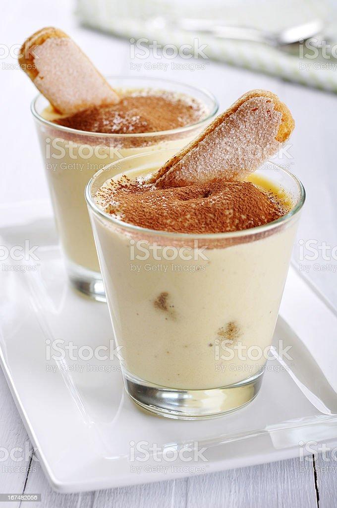 dessert tiramisu royalty-free stock photo