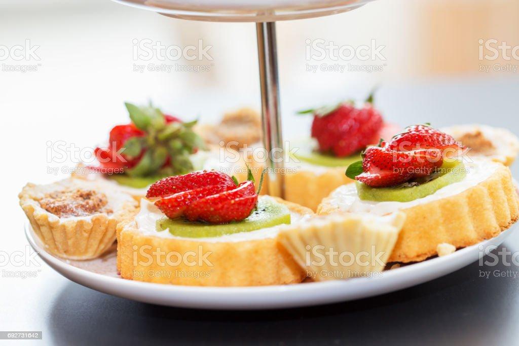 Desserts stock photo
