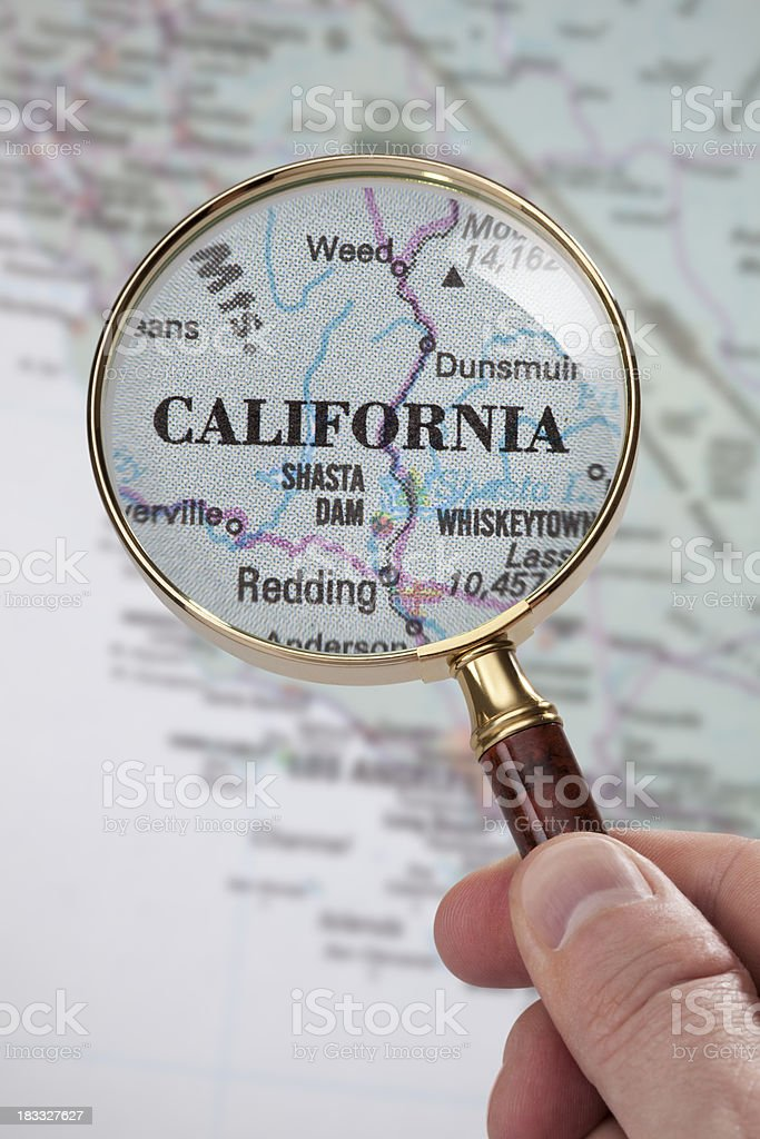 Destination - California royalty-free stock photo