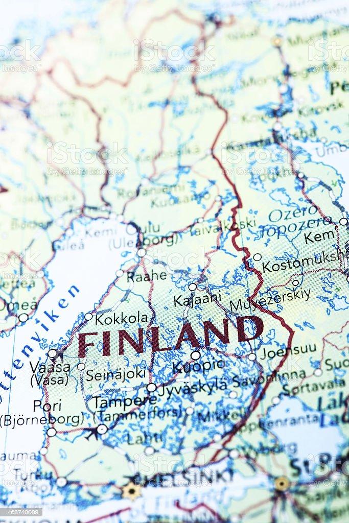 Destination Finland Scandinavia royalty-free stock photo