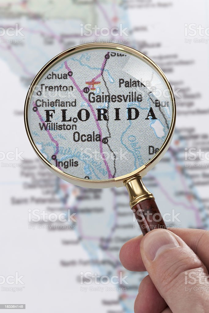 Destination - Florida royalty-free stock photo