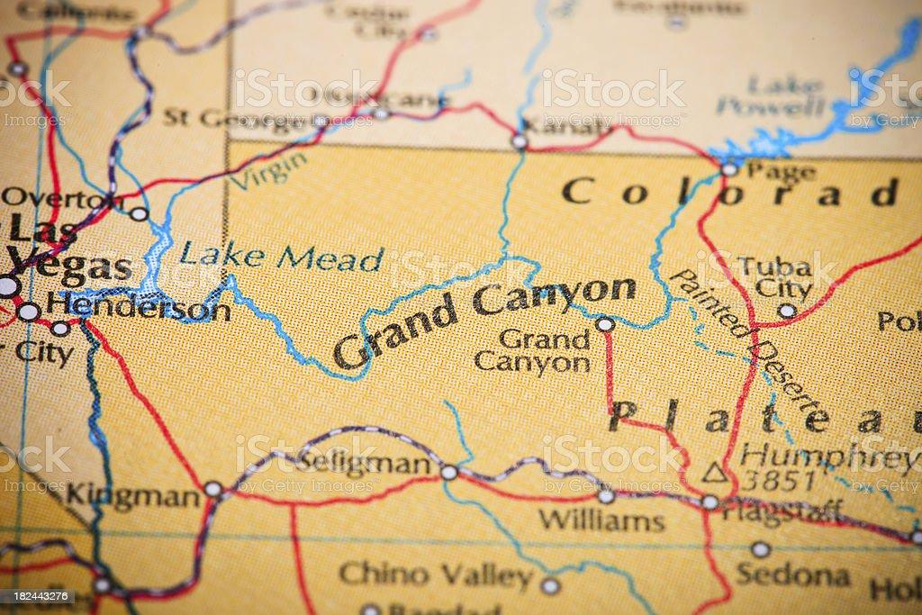 destination grand canyon stock photo