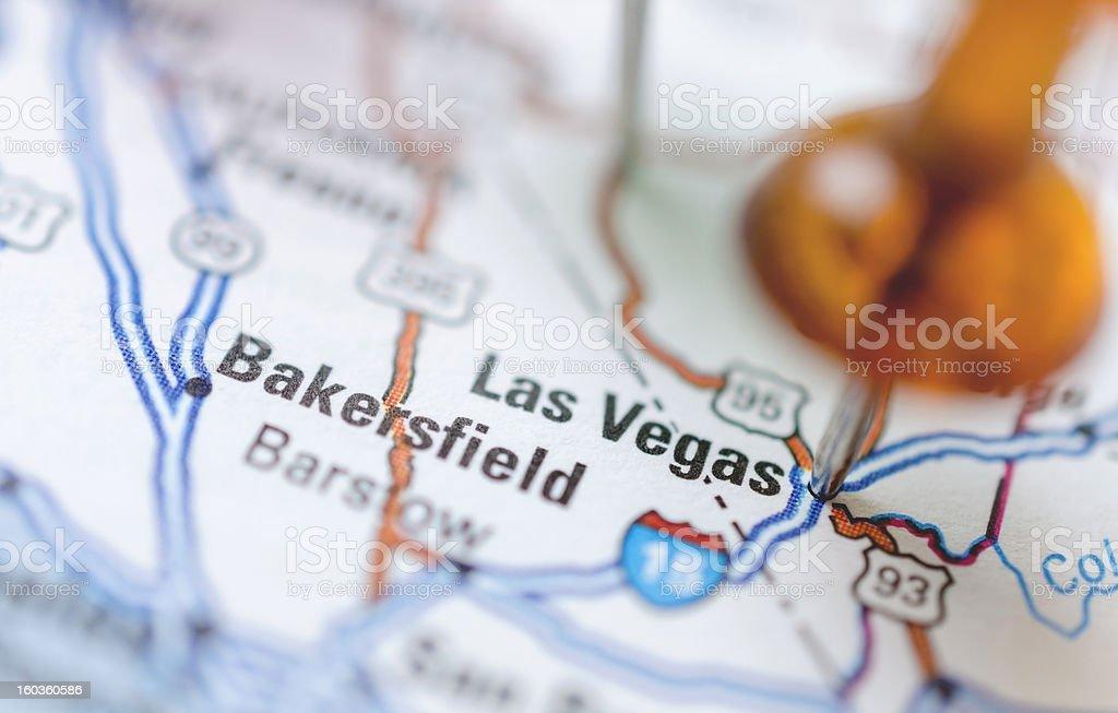 Destination Las Vegas royalty-free stock photo