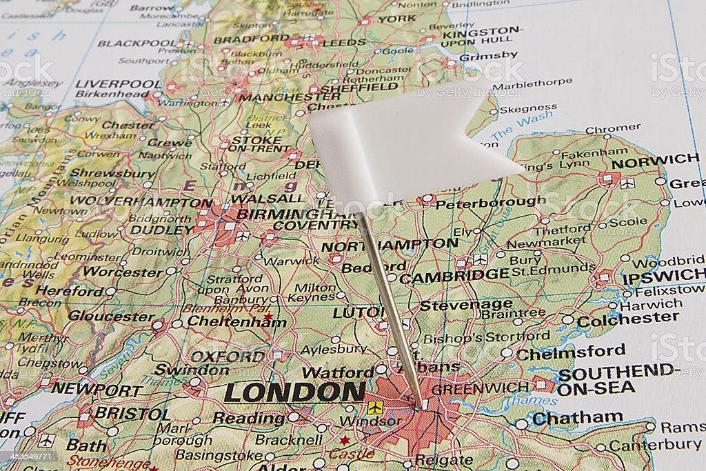 Destination: London stock photo