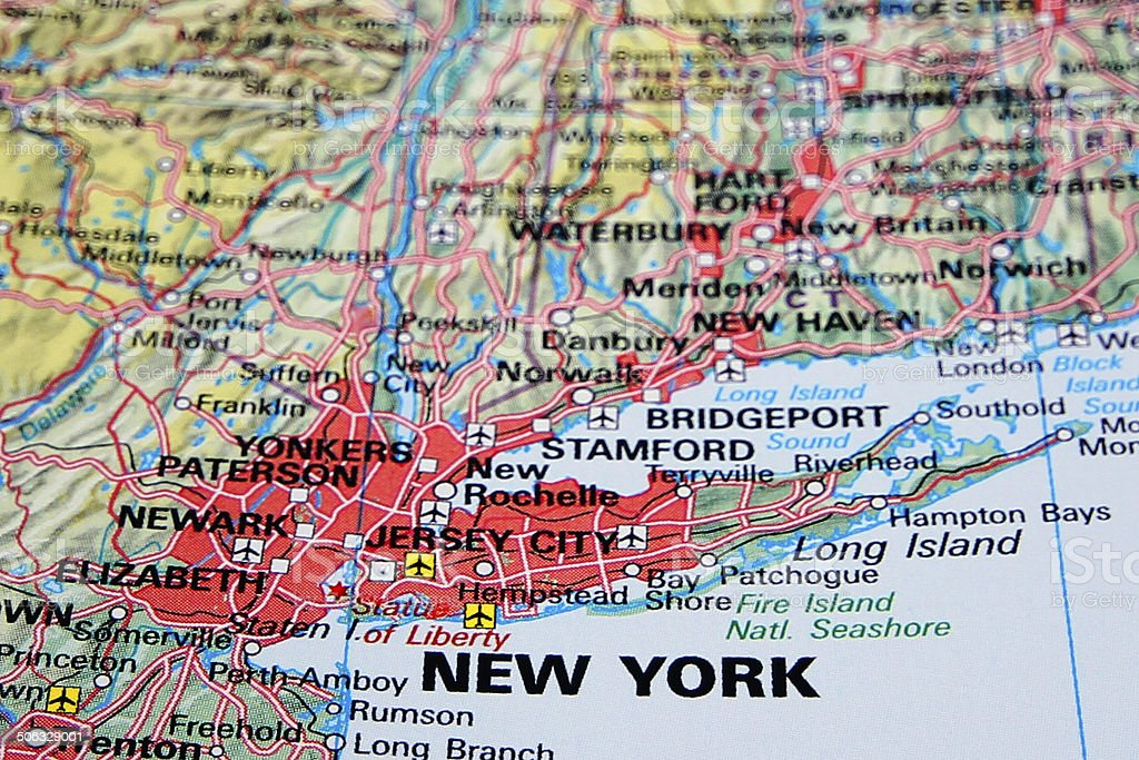 Destination: New York stock photo