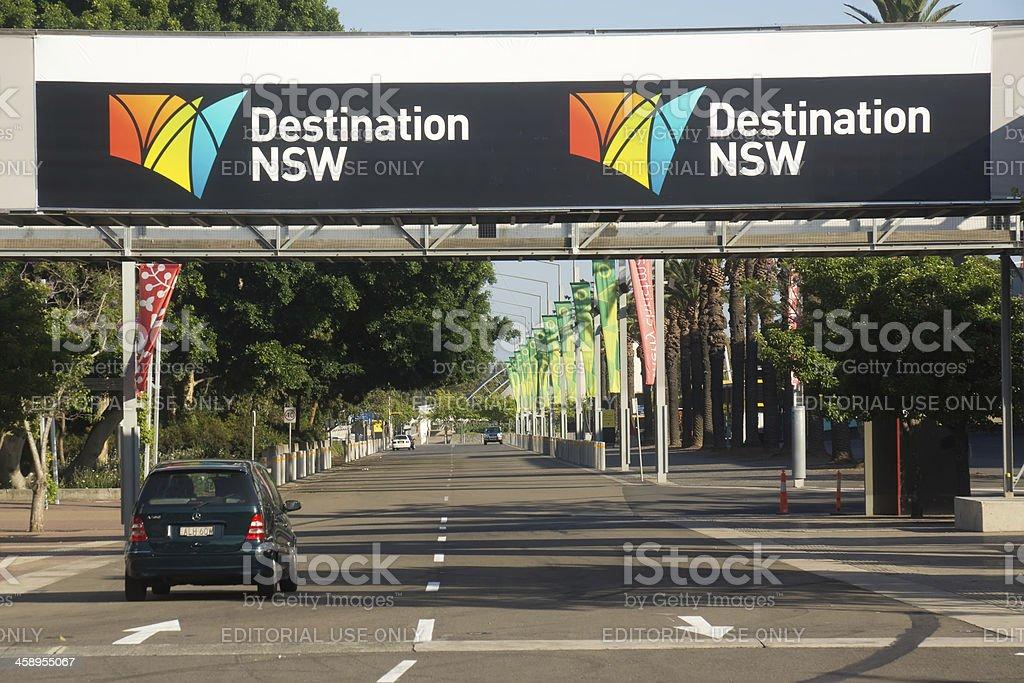 Destination NSW royalty-free stock photo