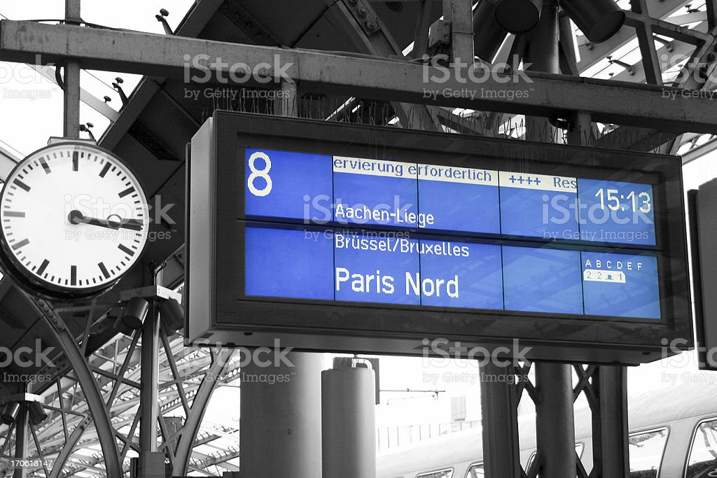 Destination Paris stock photo