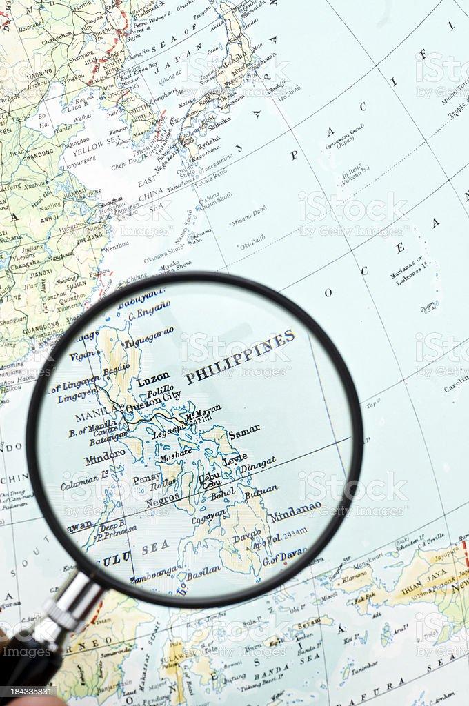 Destination Philippines royalty-free stock photo