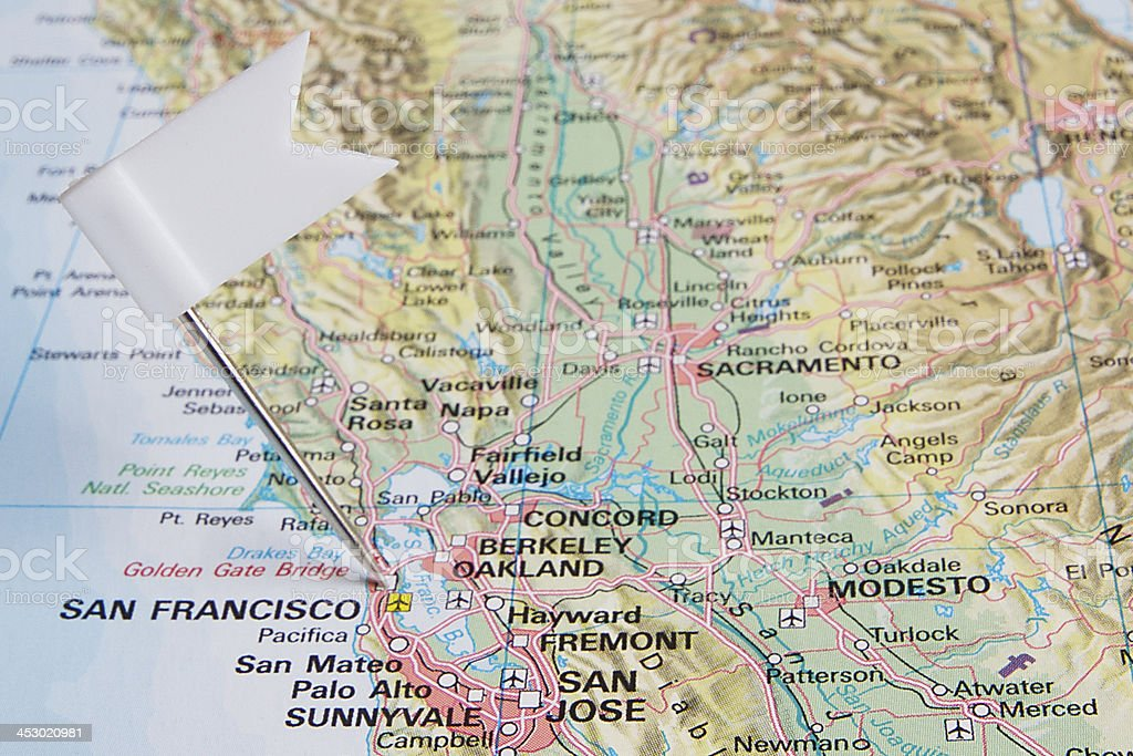 Destination: San Francisco stock photo