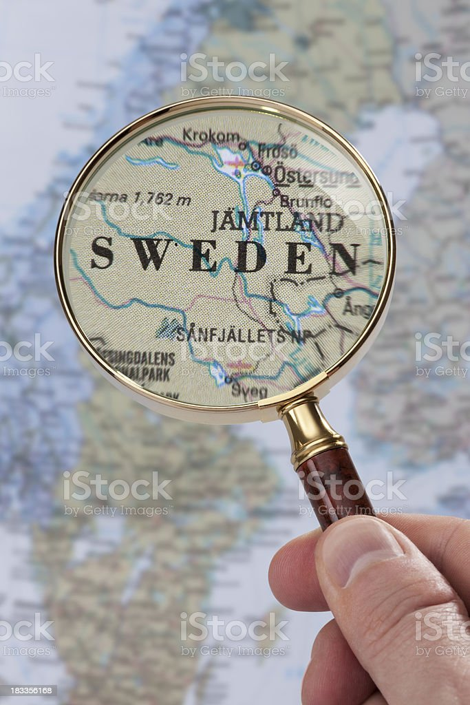 Destination - Sweden stock photo