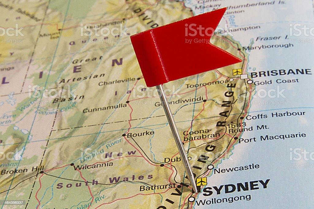 Destination: Sydney stock photo