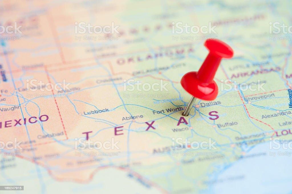Destination Texas stock photo