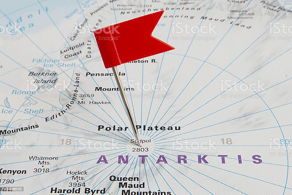 Destination: The Antarctic stock photo