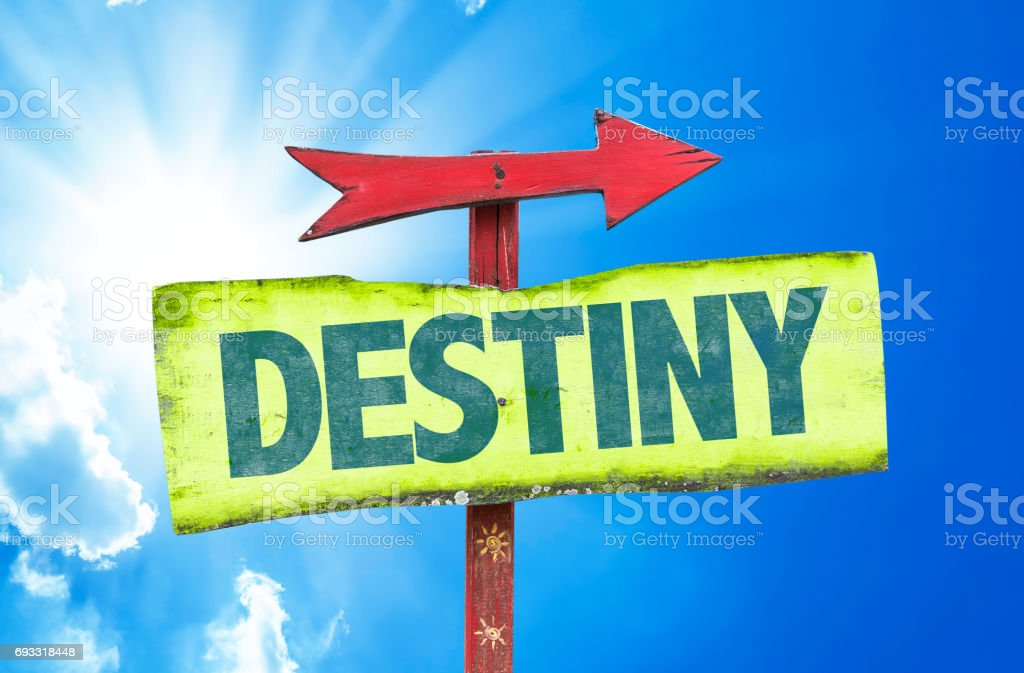 Destiny stock photo