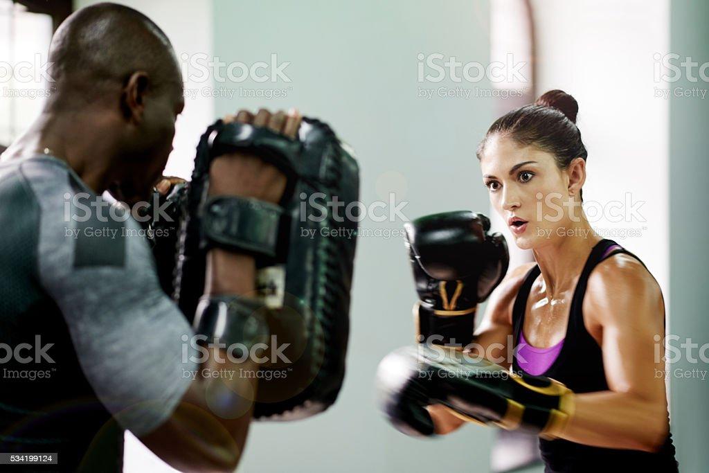 Destroy what destroys you stock photo
