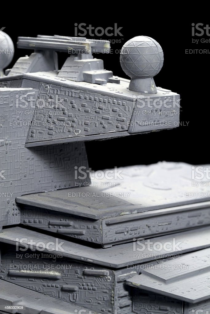 Destroyer Conning Tower royalty-free stock photo