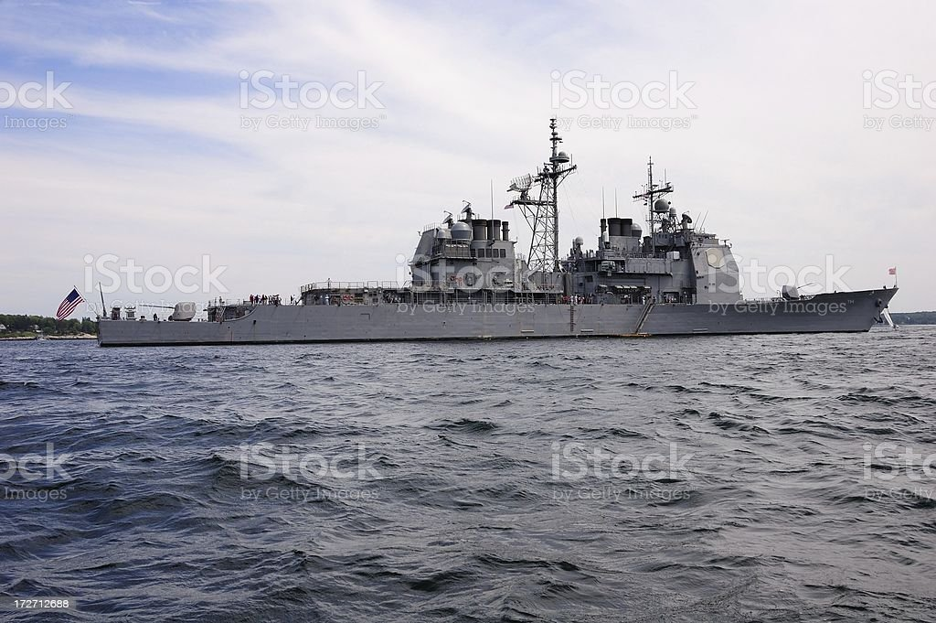destroyer royalty-free stock photo