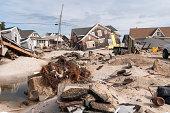 Destruction on the Jersey Shore