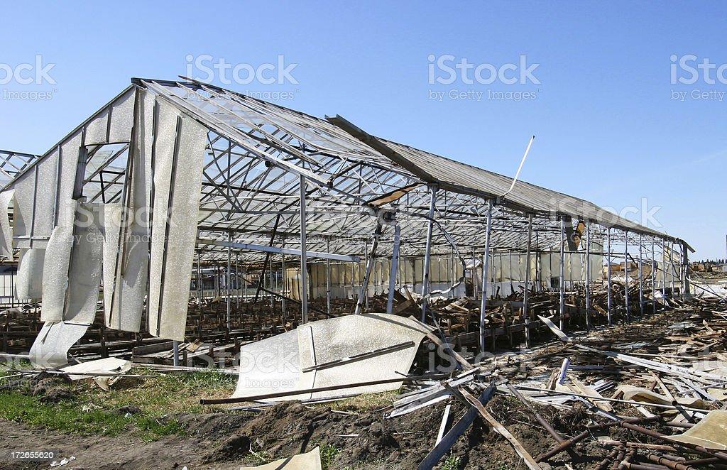 Destruction # 2 stock photo