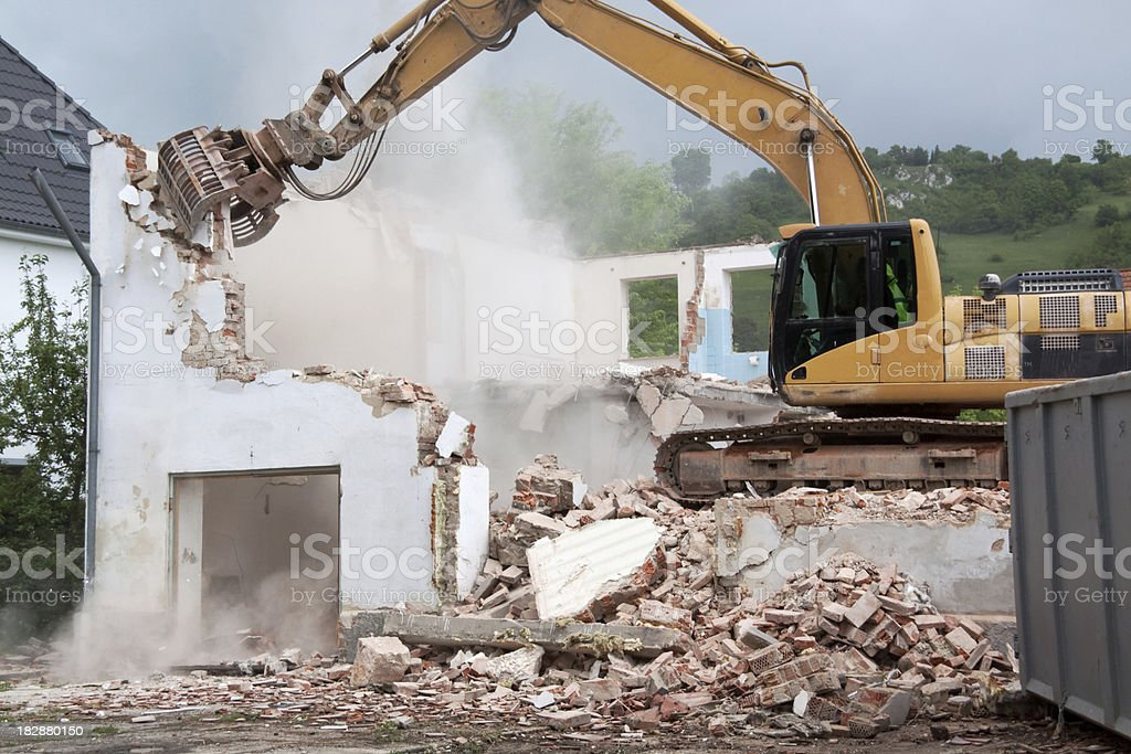 destruction royalty-free stock photo