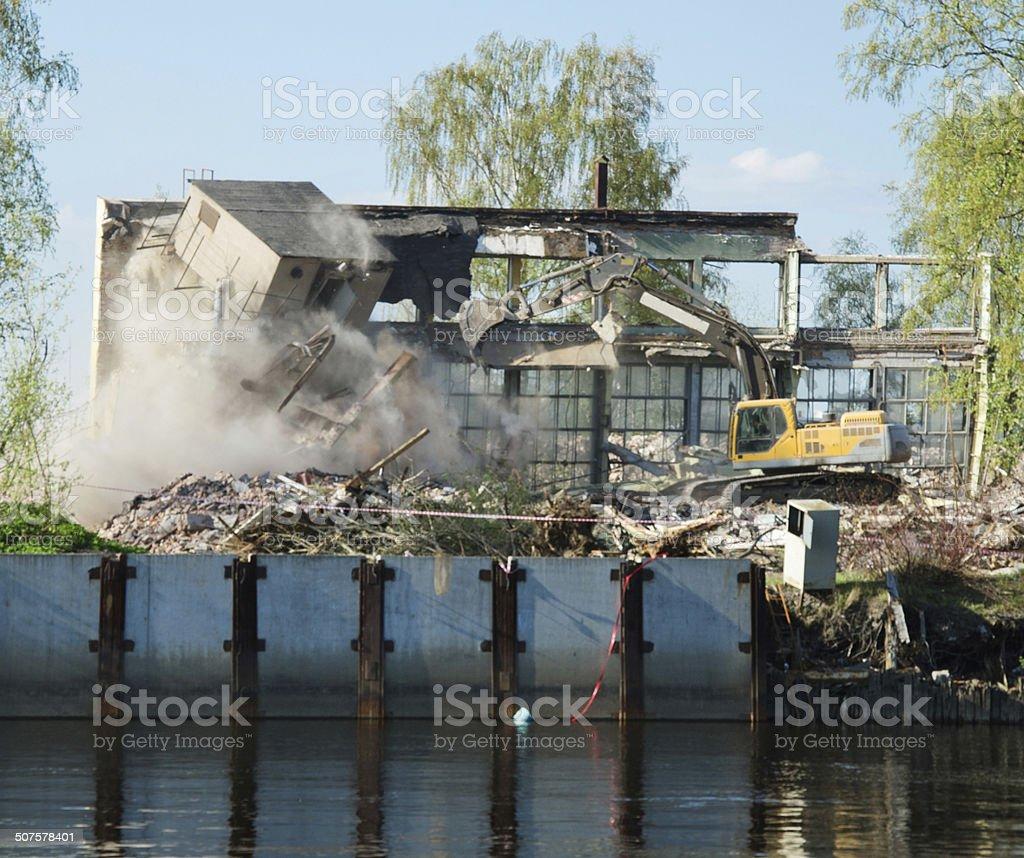 Destruição foto de stock royalty-free