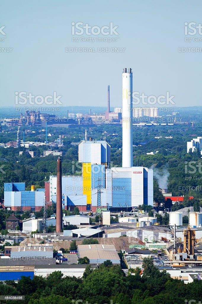 Destructor on Oberhausen stock photo