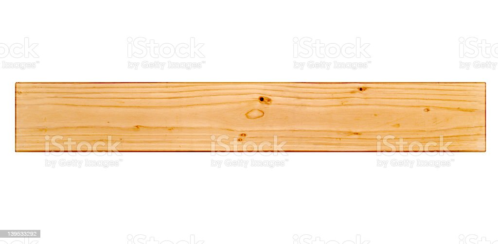 Detail and Isolation of Wood stock photo