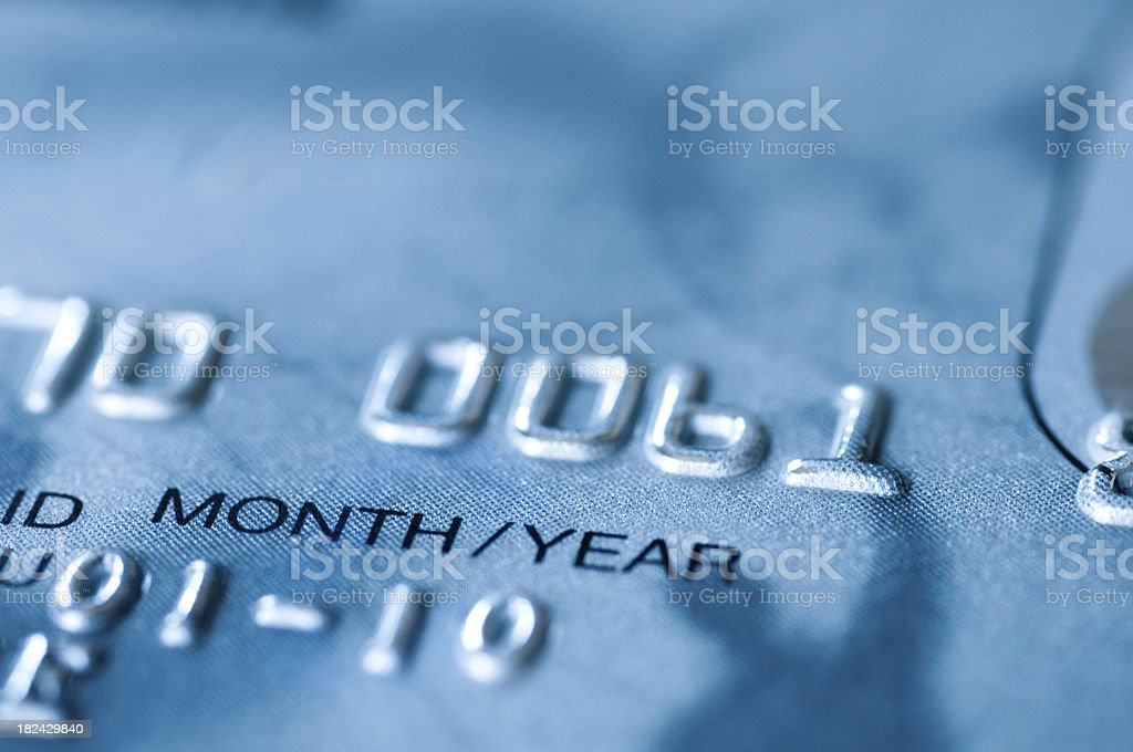 detail and macro shot from credit card stock photo