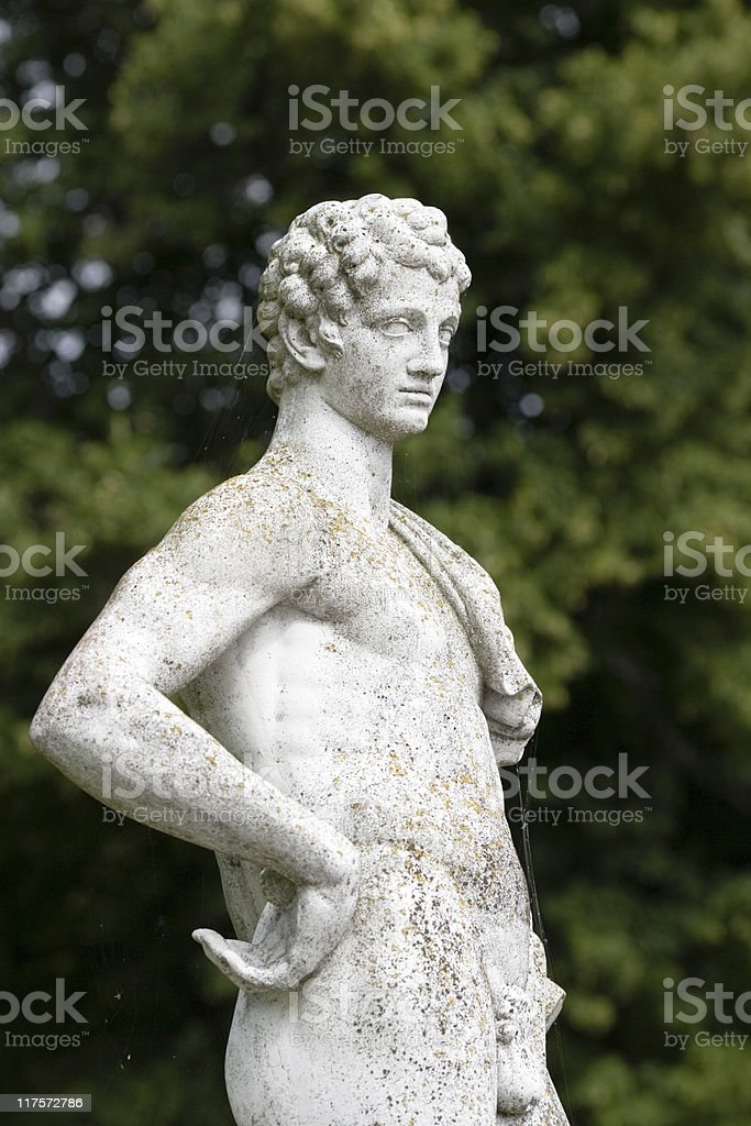 Detail at the Royal Palace in Stockholm stock photo