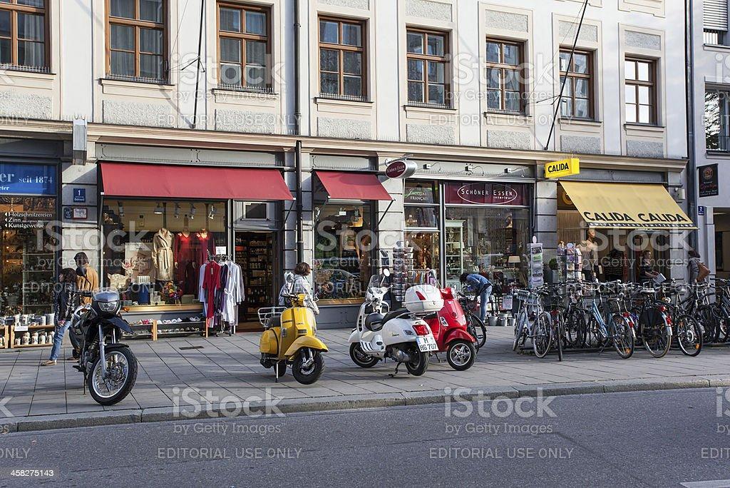 Detalle de Munich foto de stock libre de derechos
