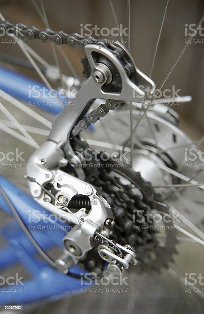 Detail of a bike 2 royalty-free stock photo