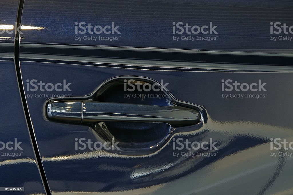 Detail of a car. royalty-free stock photo