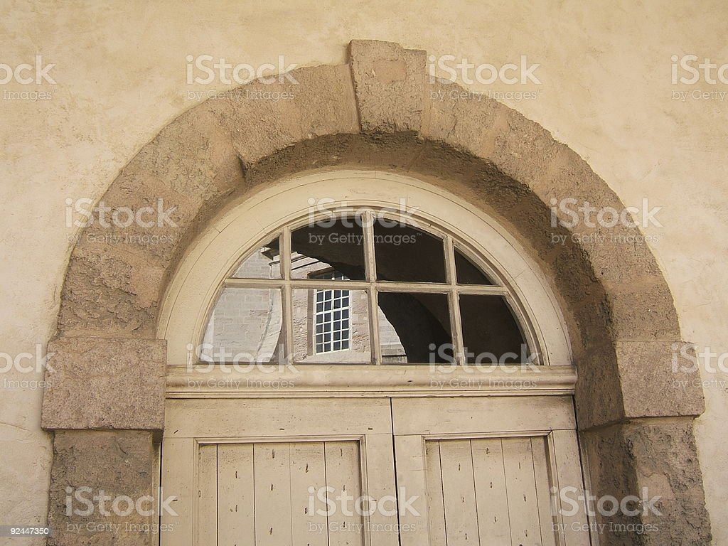Detail of a door royalty-free stock photo