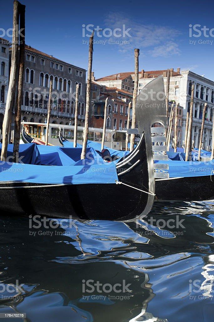 Detail of a gondola royalty-free stock photo