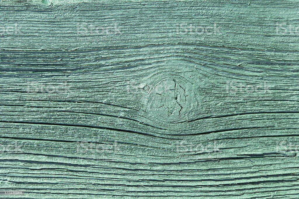 Detail of a green entrance door stock photo
