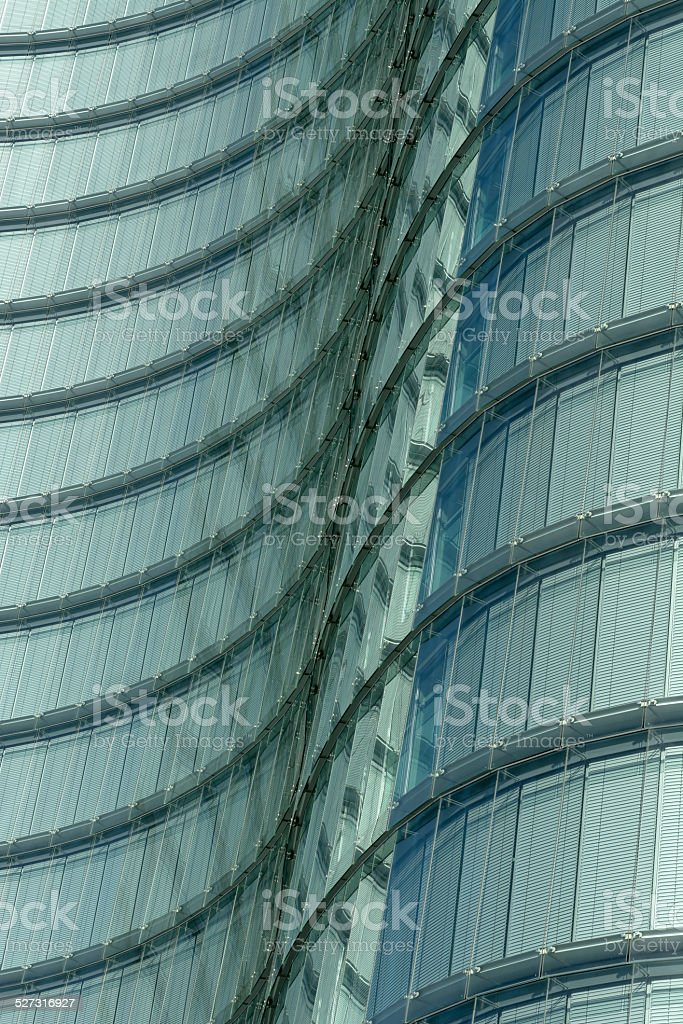 Detail of a modern office building stock photo
