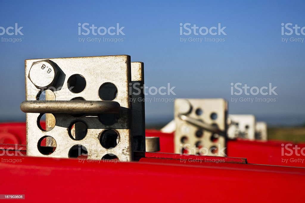 detail of a plow royalty-free stock photo