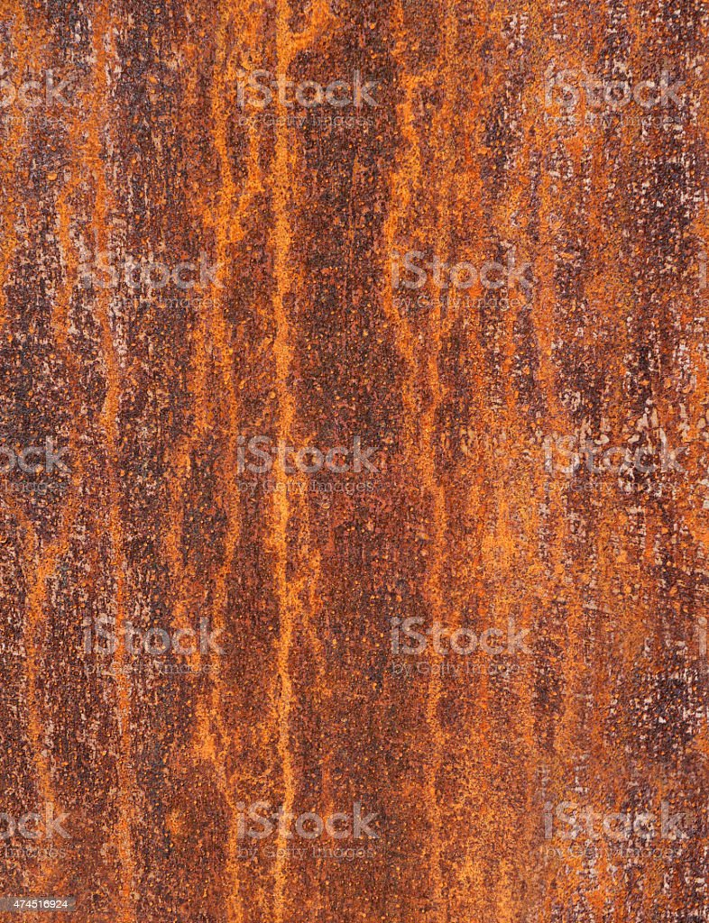 Detail of a rusty metal surface stock photo
