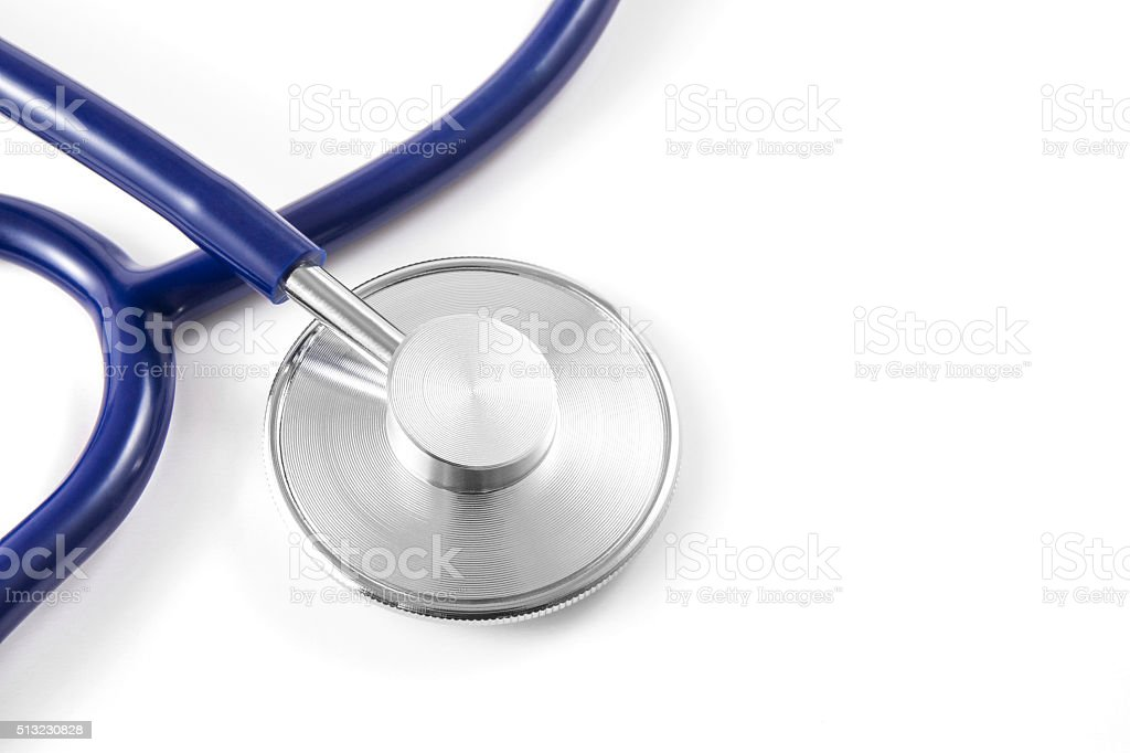 Detail of a Stethoscope stock photo