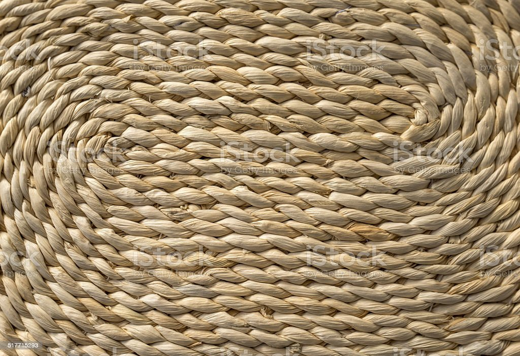 Detail of a woven basket royalty-free stock photo