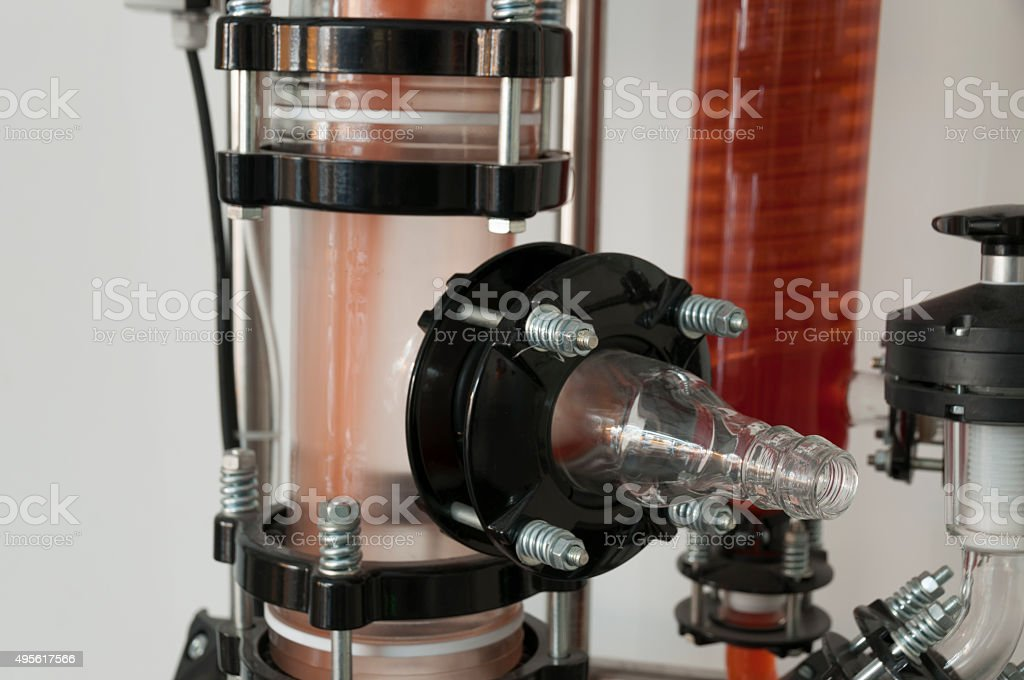 Detail of air filtration system stock photo