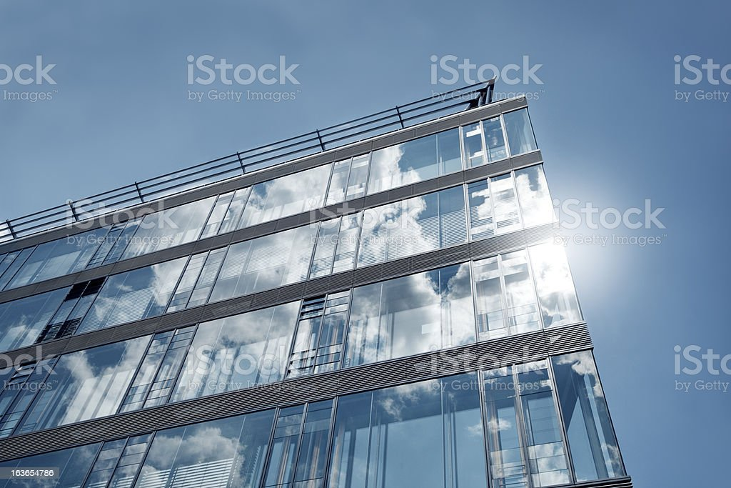 Detail of an office building royalty-free stock photo