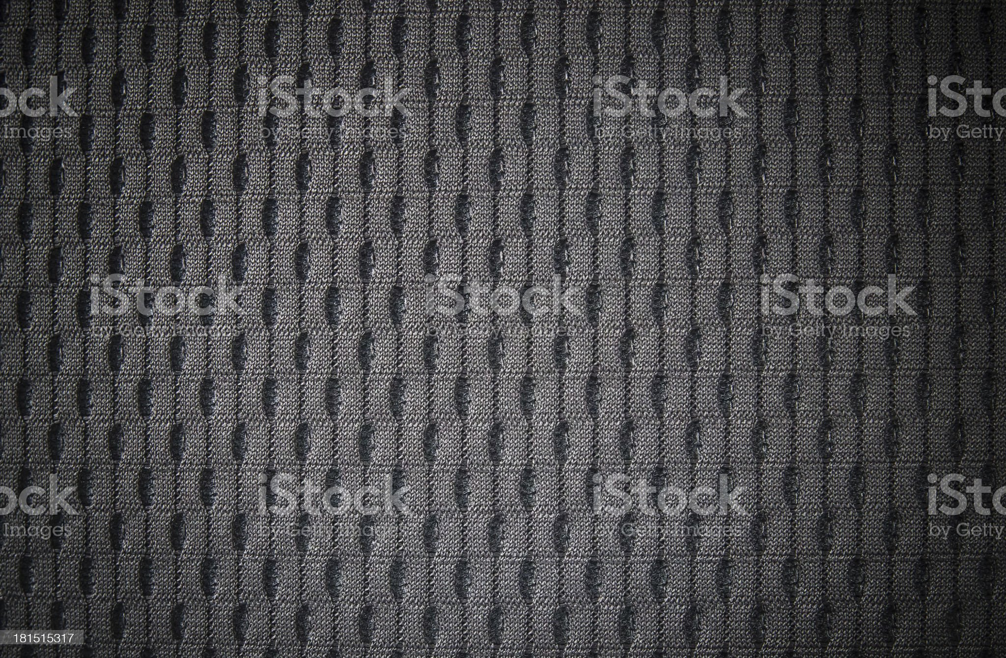 Detail of Black Car Seat. royalty-free stock photo