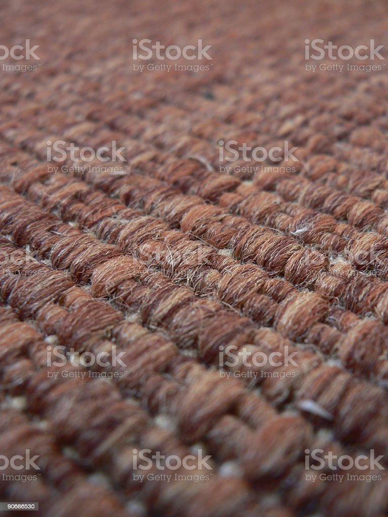 Detail of Carpet royalty-free stock photo