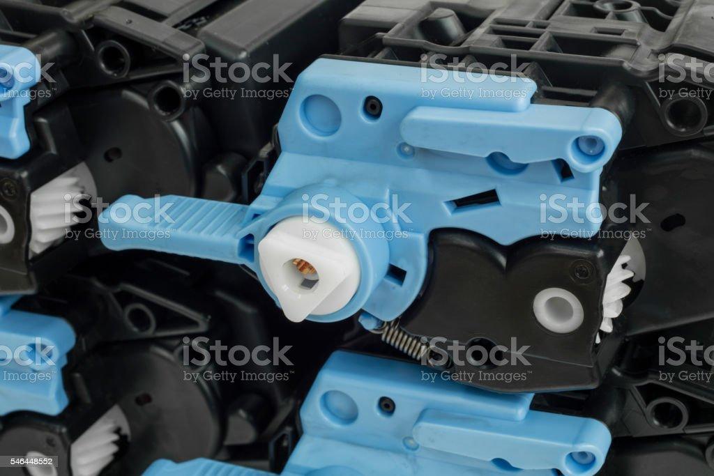 Detail of cartridge stock photo