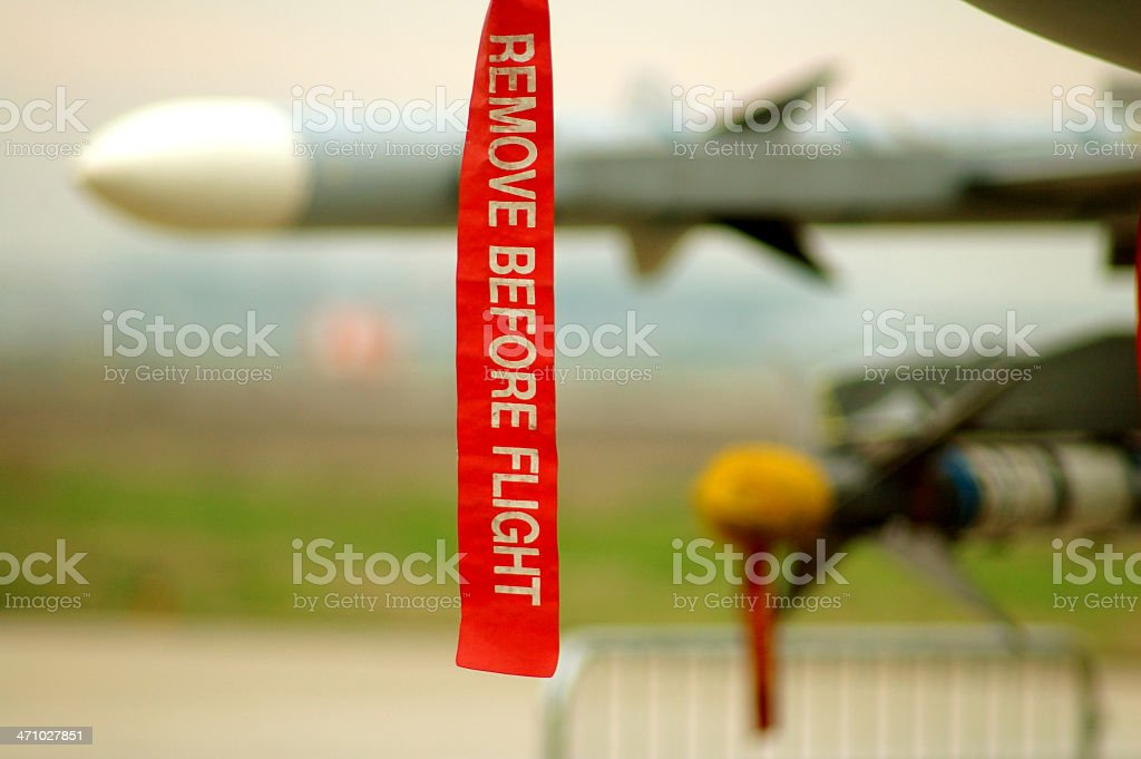 Detail of Fighter plane royalty-free stock photo